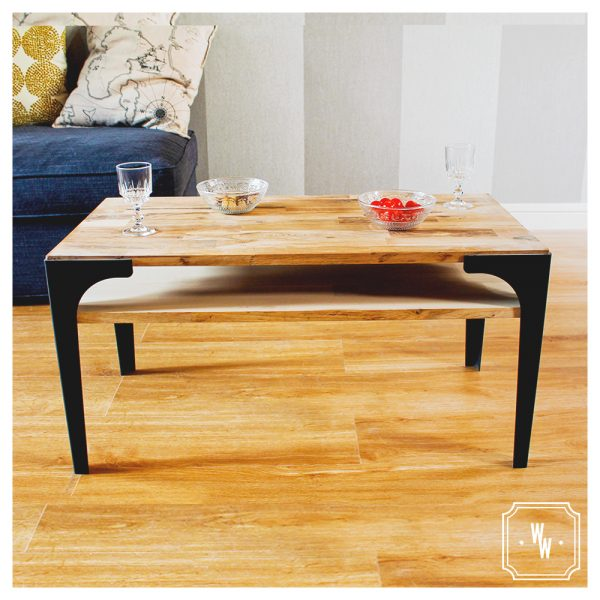 TABLE BASSE PLATEAU DOUBLE