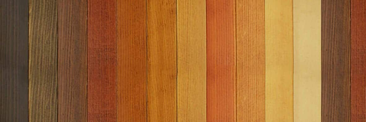 Teintes de bois & Essences
