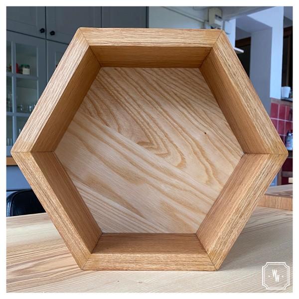 EXAGÈRE - Etagère hexagonale