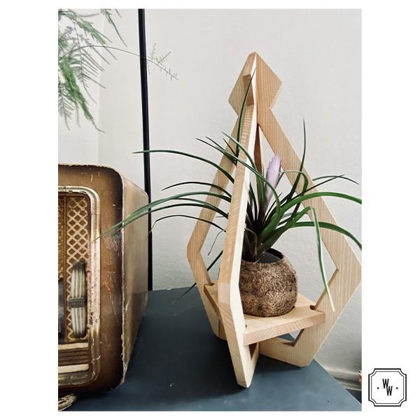 COCO - Porte plante décoratif et design en frêne