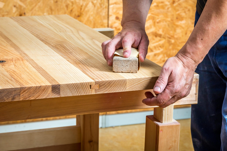Meuble en bois - Finition - WoodWorker Shop